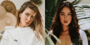 Jess Dantas e Marcela Velozo protagonizaram um arranca-rabo por conta de fotógrafo das celebridades (foto: Montagem/Redes Sociais)