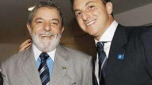 Globo acredita que Luciano Huck desistirá de disputar as próximas eleições por causa de Lula (foto: Reprodução/Redes Sociais)
