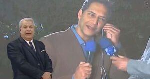 Apoiadores ferrenhos de Bolsonaro, Lacombe e Sikêra Jr. vão dividir horário nobre da RedeTV! (foto: Reprodução/TV A Crítica)