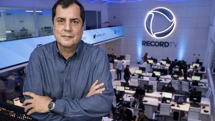 Record demitiu Marco Nascimento por baixo rendimento de telejornais locais do Rio de Janeiro (foto: Divulgação/Record)
