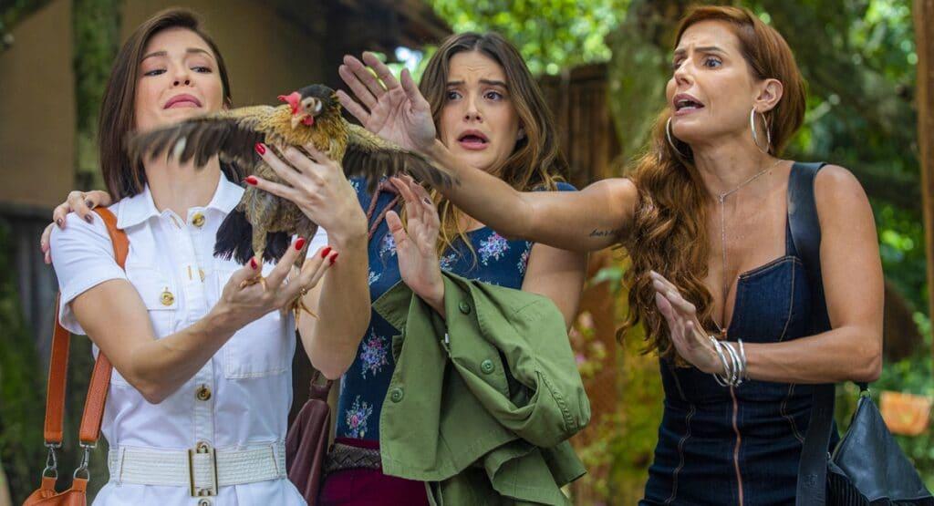 Salve-se Quem Puder volta ao ar nesta segunda-feira: capítulos da novela ganharam nome (foto: Divulgação/TV Globo)