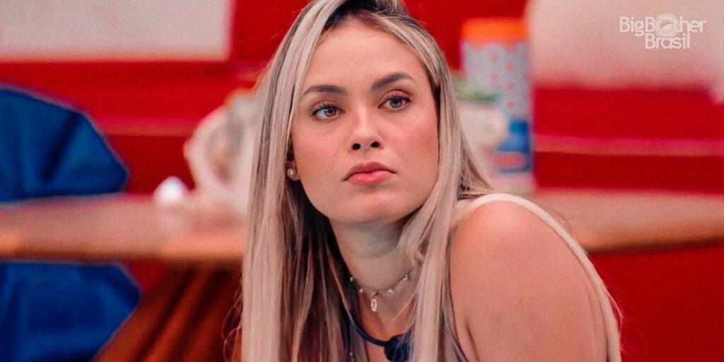 Sarah Andrade é a mais nova cancelada das redes sociais (foto: Reprodução/TV Globo)