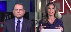 Sidney Rezende e Larissa Alvarenga serão dos dois apresentadores do Edição 1 (foto: Montagem/CNN Brasil)