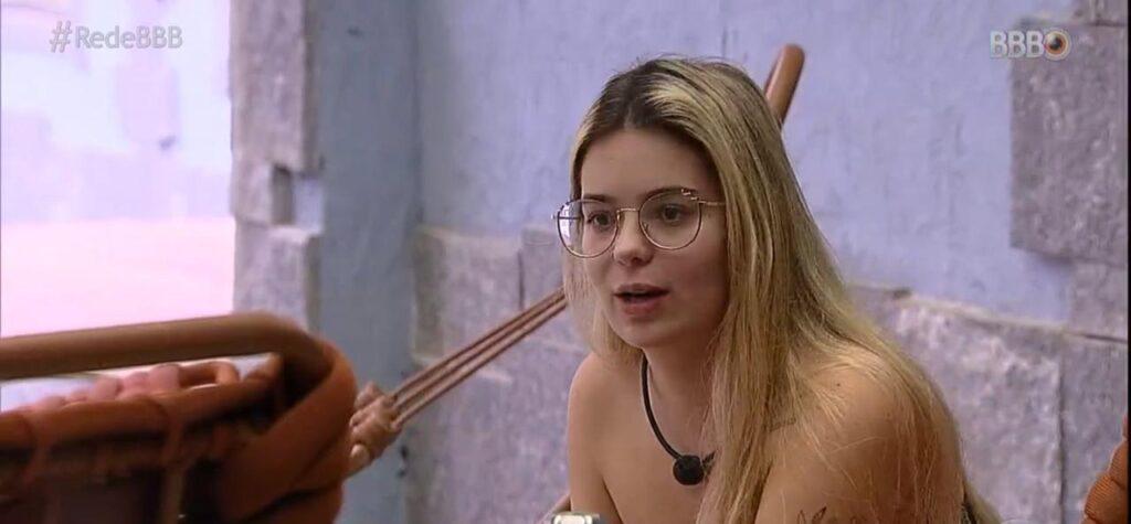 """Viih Tube acredita que todo o país viu a sua """"periquita"""" (foto: Reprodução/TV Globo)"""