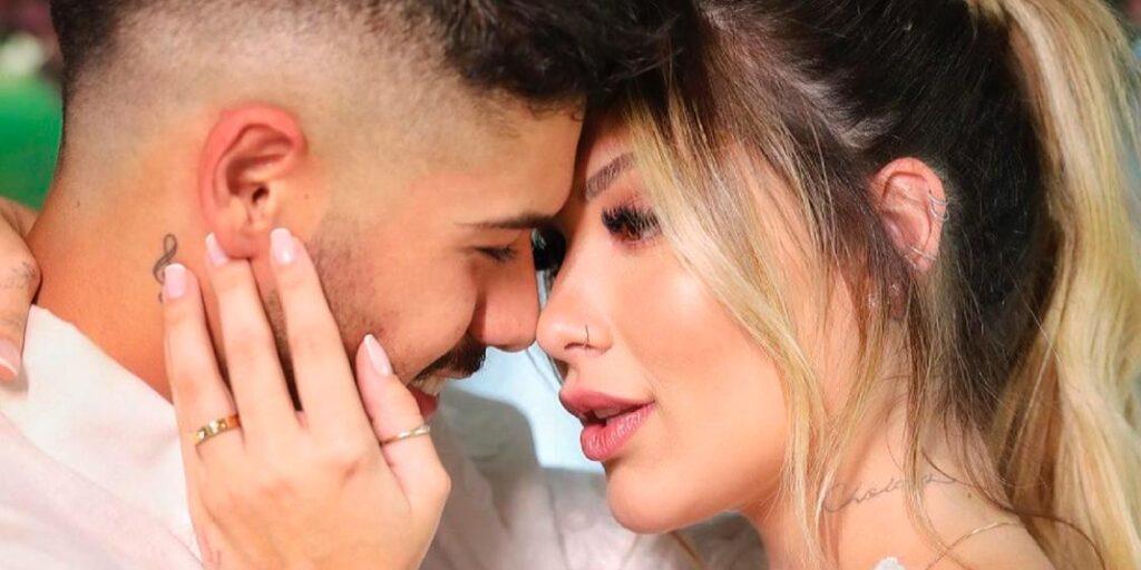 A influenciadora Virginia Fonseca e o sertanejo Zé Felipe finalmente são marido e mulher (foto: Reprodução/Redes Sociais)