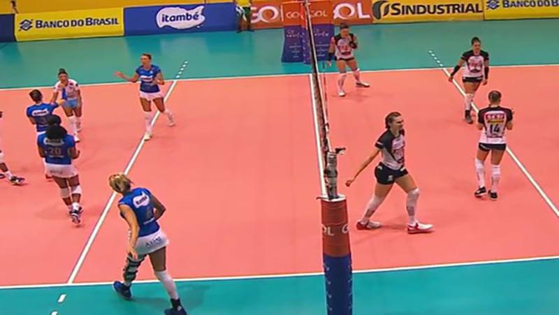 SporTV2 transmite jogos da fase decisiva da Superliga de Vôlei feminino (foto: Divulgação/Globo)