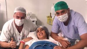 Andréia Sadi e André Rizek celebram a chegada dos gêmeos João e Pedro (foto: Reprodução/Instagram)