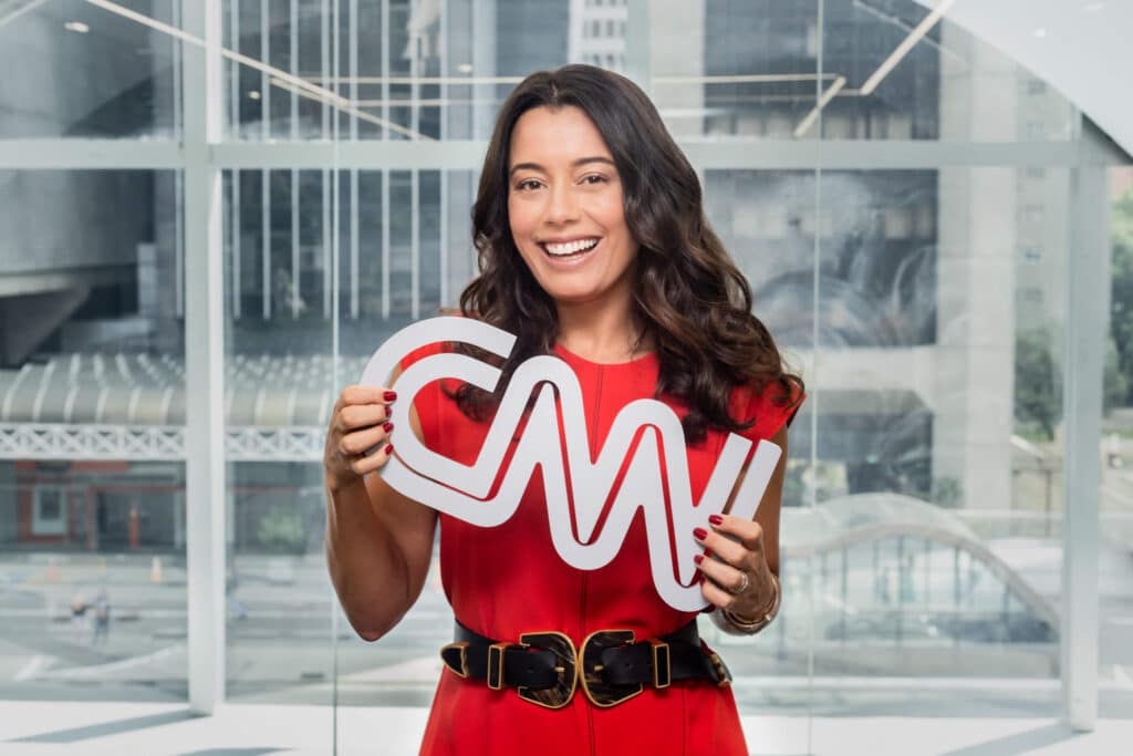 Daniela Filomeno comanda o CNN Viagem & Gastronomia (foto: CNN Brasil/Kelly Queiroz)