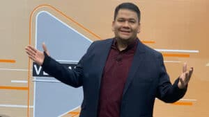 Diego Santos, apresentador da TV Norte Boa Vista (foto: Reprodução/TV Norte Boa Vista)