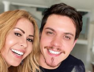 Joelma e o filho Yago Matos (foto: Reprodução)