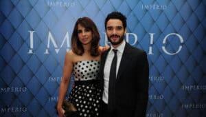 Maria Ribeiro culpou Aécio Neves por fim do casamento com o ator Caio Blat (foto: Globo/João Cotta)