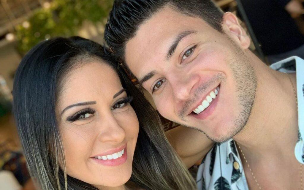 Mayra Cardi e Arthur Aguiar terminam casamento mais uma vez (foto: Reprodução)