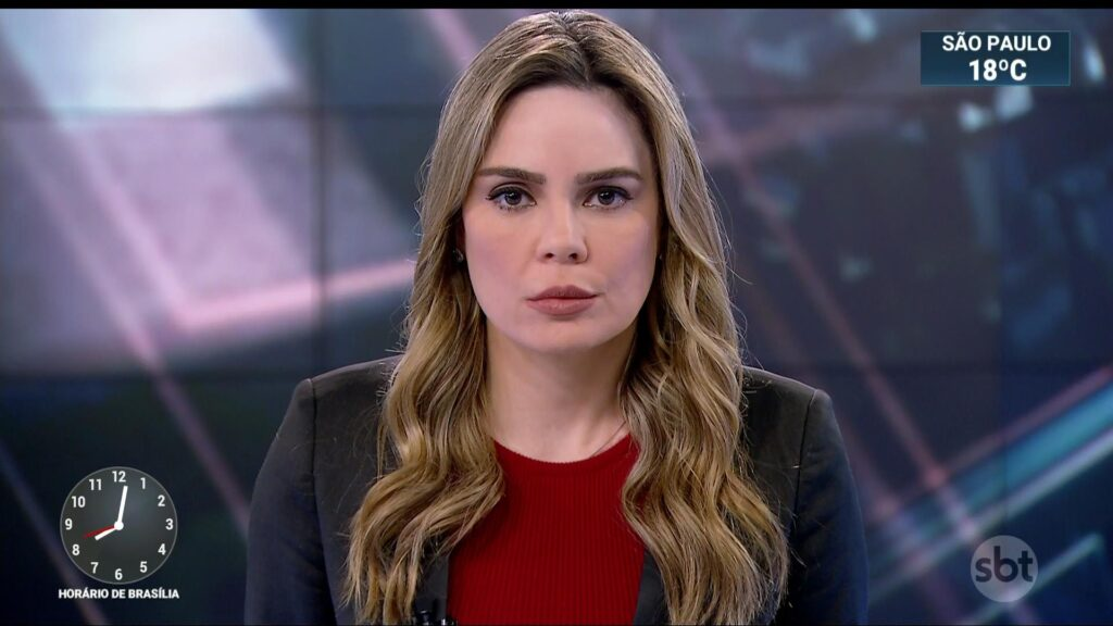 Rachel Sheherazade cobra indenização milionária do SBT (foto: Reprodução/SBT)