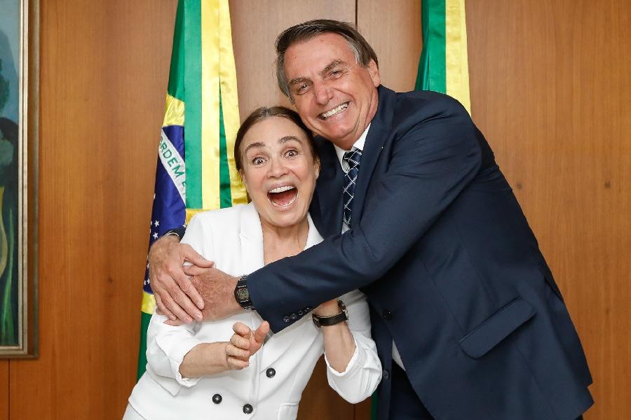 Regina Duarte foi condenada parcialmente por fake news sobre mulher de Lula (foto: Reprodução)