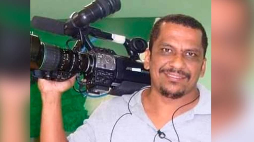 Cinegrafista da Record News é baleado em assalto (foto: Reprodução)