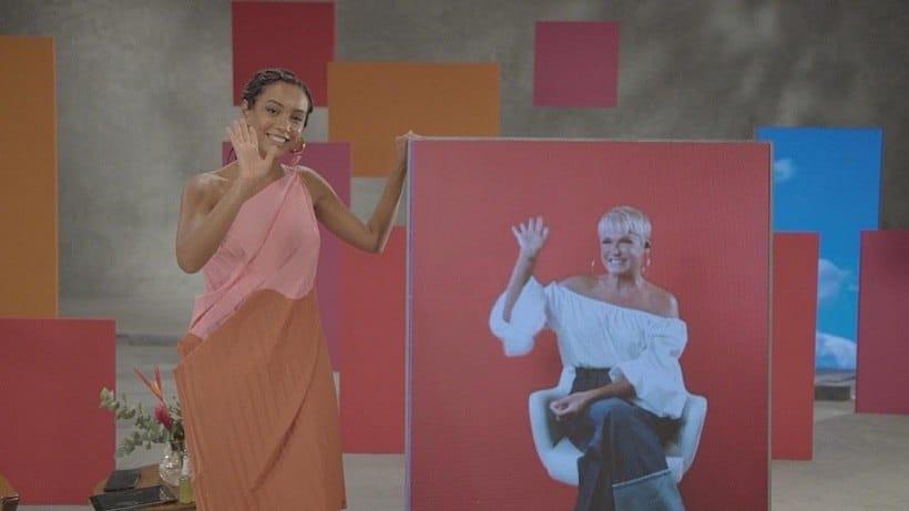 Xuxa e Taís Araújo no programa Superbonita (foto: Reprodução)
