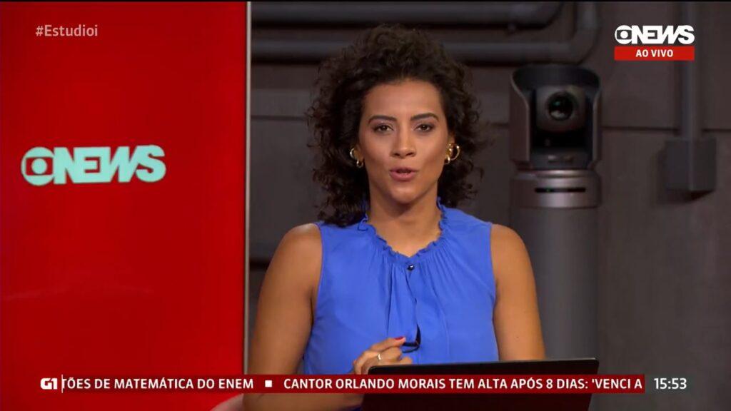 Aline Midlej disse que gostaria que a eleição de Jair Bolsonaro fosse uma mentira (foto: Reprodução/GloboNews)