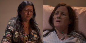 Amor de Mãe decepcionou e não empolgou o público em sua despedida (foto: Reprodução/TV Globo)