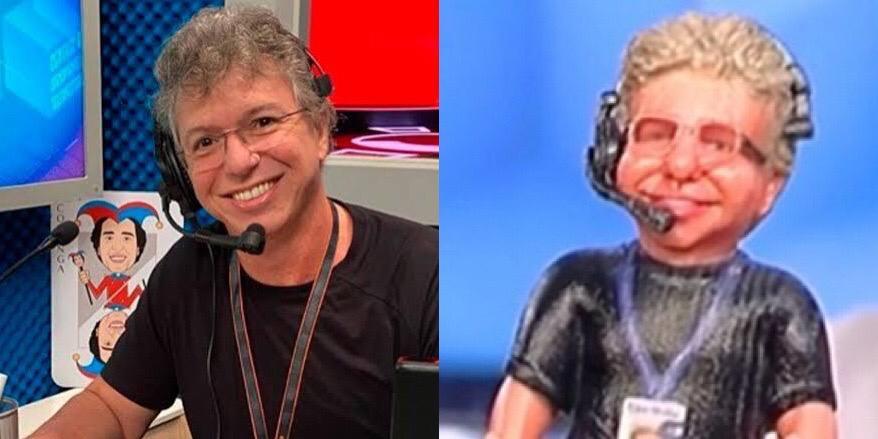Boninho pediu para que Sonia Abrão lhe mandasse um boneco de presente (foto: Montagem/TV Globo e RedeTV!)