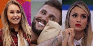 Arthur teve um affair com Carla no BBB 21, mas confessou que tinha atração por Sarah (foto: Montagem/TV Globo)