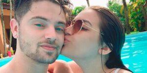 Dani Russo insinuou que Chris Leão é alcoólatra e desabafou em uma série de vídeos (foto: Reprodução/Redes Sociais)