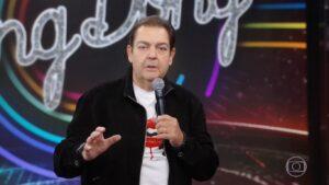 Após mais de três décadas na Globo, Faustão decidiu que voltará para a Band (foto: Reprodução/TV Globo)