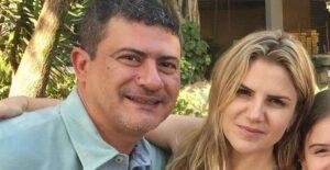 Tom Veiga, intérprete de Louro José, e Alessandra Veiga, segunda ex-mulher do ator (foto: Reprodução)
