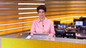 Mariana Godoy no Fala Brasil de 28 de abril: de volta para o terceiro lugar (foto: Reprodução/Record)