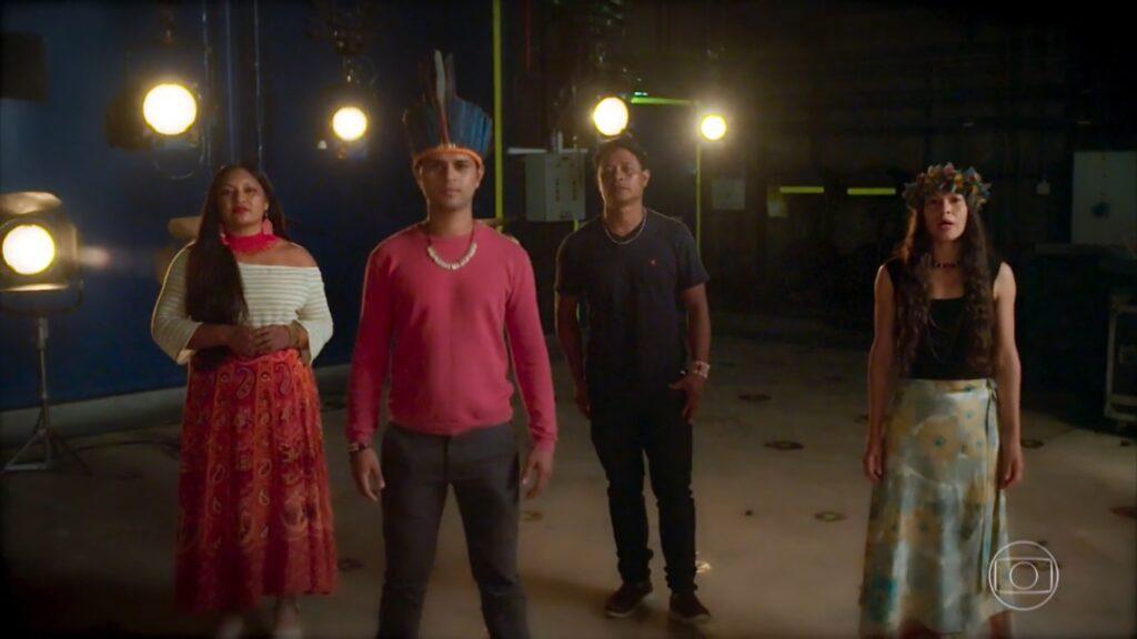 Falas da Terra foi o documentário menos assistido entre os especiais de conscientização social produzidos pela Globo (foto: Reprodução/TV Globo)