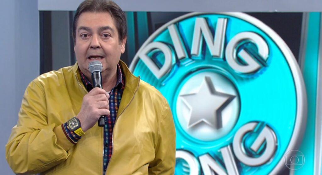 Faustão voltou atrás e Domingão terá mais edições do Ding Dong; quadro deverá ter participação de Roberto Carlos (foto: Reprodução/TV Globo)