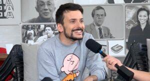 Em entrevista ao TV Pop, Fefito contou sobre os seus próximos desafios profissionais (foto: Reprodução/TV Pop)