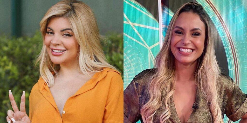 Globo ordenou que a youtuber GKay apagasse uma entrevista feita com a ex-BBB Sarah Andrade (foto: Reprodução/Redes Sociais)