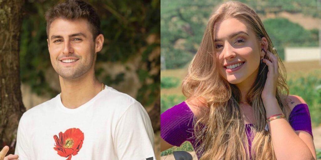 Hemilly Bellon, ex-namorada de Arthur Picoli, está tentando a sorte como youtuber em concurso de Pedro Rezende (foto: Montagem/Redes Sociais)