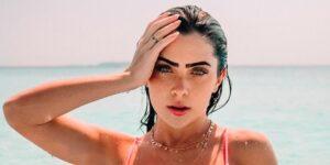 Jade Picon decidiu viajar para o México e não acompanhou o seu namorado (foto: Reprodução)