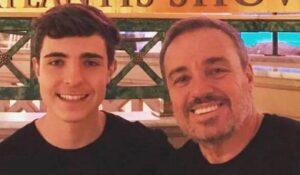 Filho de Gugu Liberato, João Augusto Liberato admitiu que quer virar apresentador de TV (foto: Reprodução/Redes Sociais)