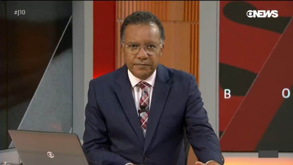 Heraldo Pereira deixa o Jornal das 10 e assume o comando do Bom Dia Brasil (foto: Reprodução/TV Globo)