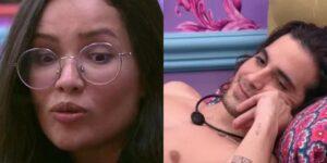 Juliette e Fiuk tiveram conversa curiosa na madrugada do BBB 21 (foto: Reprodução/TV Globo)