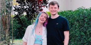Karen Bachini e Janosh se casaram após três anos de namoro (foto: Reprodução/Redes Sociais)