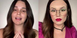 Letícia Gomes chocou a internet ao se transformar em Juliette Freire (foto: Reprodução/Redes Sociais)