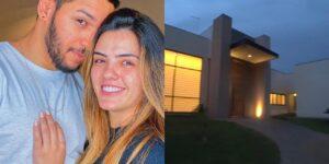 Lucas Lira e Sunaika compraram uma mansão milionária no Distrito Federal (foto: Reprodução)