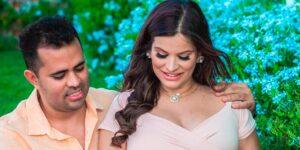 Maluzinha e o marido, o influenciador Roninho, em foto da gravidez (foto: Reprodução/Redes Sociais)