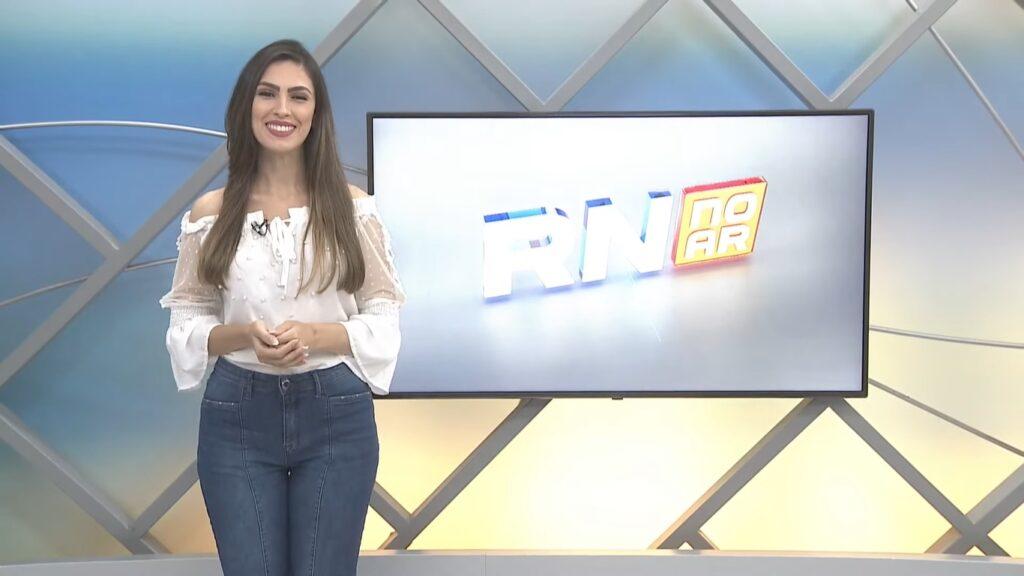 Marina Maimone trocou a Record do RN pela Band do interior de Minas Gerais (foto: Reprodução/TV Tropical)
