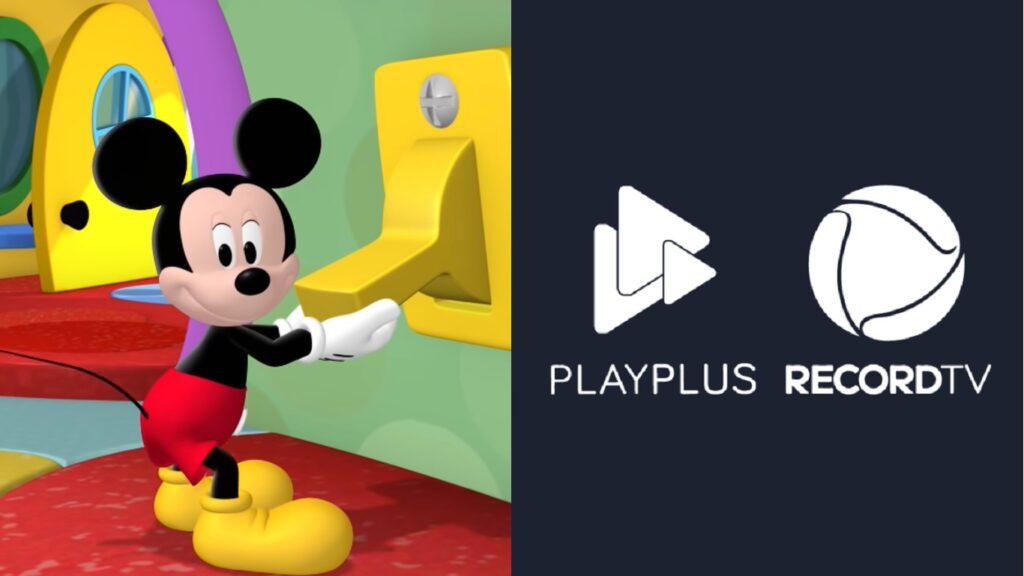 Com pé na bunda dado por Mickey, PlayPlus da Record chega mais perto de apagar as luzes definitivamente (foto: Reprodução)