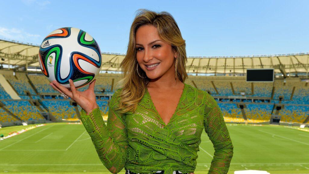 Claudia Leitte reforçará o time de apresentadores do Esporte Espetacular (foto: Divulgação/FIFA)