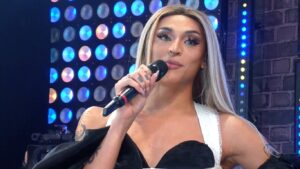 Pabllo Vittar levantou a audiência da Globo na noite de quarta-feira (foto: Reprodução/Globoplay)