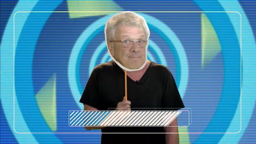 Pedro Bial era o apresentador do BBB em 2008 (foto: Reprodução/TV Globo)