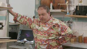 Erick Jacquin no Pesadelo na Cozinha de 20 de abril: episódio menos assistido da história do programa (foto: Reprodução/Band)