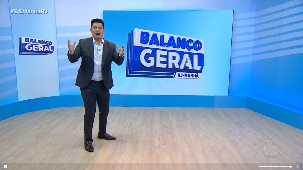 Record Rio irá transmitir os seus telejornais em um puxadinho nos próximos meses (foto: Reprodução/Record)