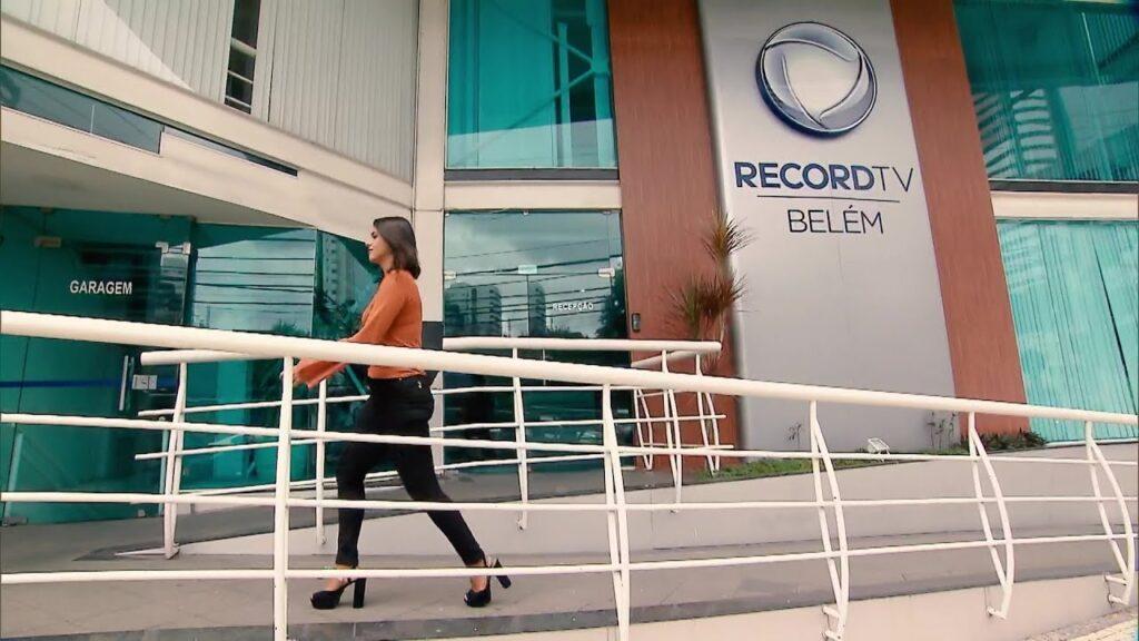 Sede da Record em Belém: jornalistas estão em pé de guerra com a emissora (foto: Reprodução)