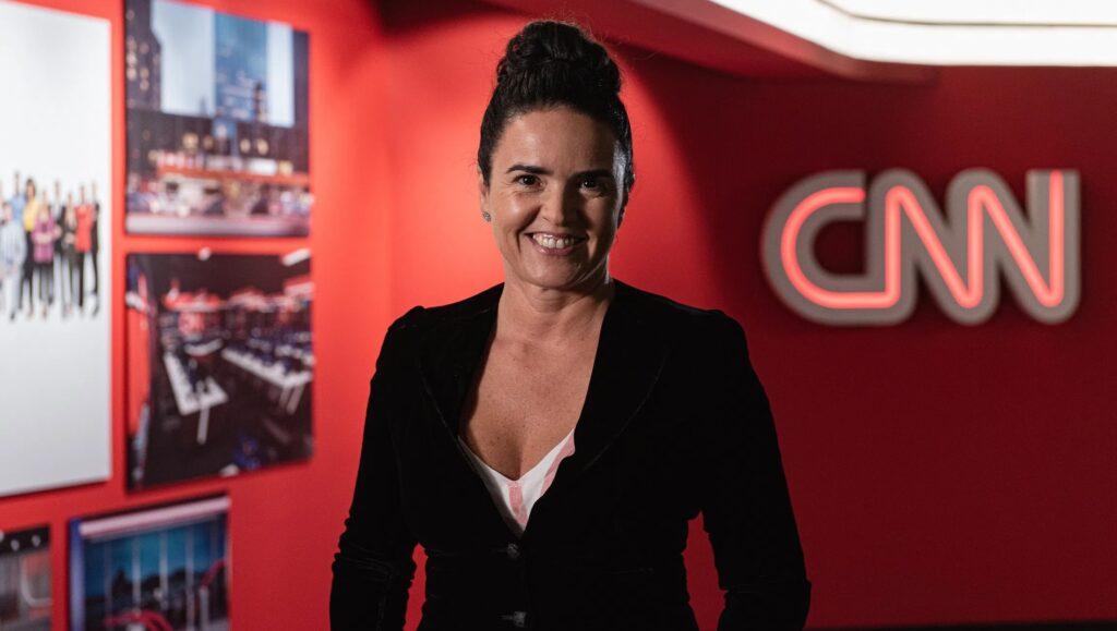 Renata Afonso não é a ex-apresentadora do SBT Rio, mas é a nova CEO da CNN Brasil (foto: Kelly Queiroz/CNN)